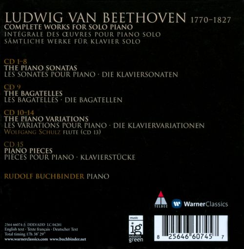 Beethoven: The Complete Works for Solo Piano