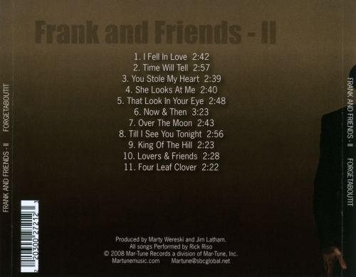 Frank And Friends II: Forgetaboutit