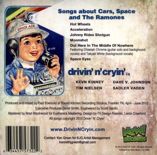 Songs About Cars, Space and the Ramones