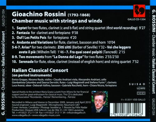 Rossini: Chamber music with strings and winds