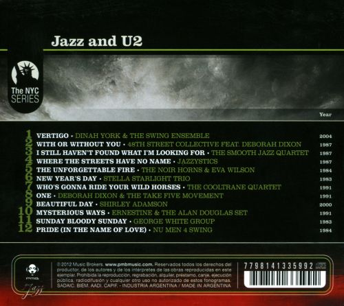 Jazz And U2: The Coolest And Sexiest Songbook Of U2