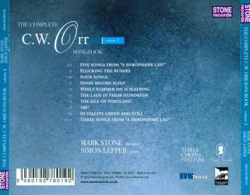The Complete C.W. Orr Songbook, Vol. 2