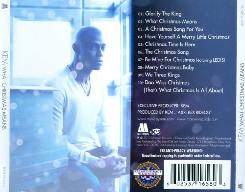 What Christmas Means - Kem   Songs, Reviews, Credits   AllMusic