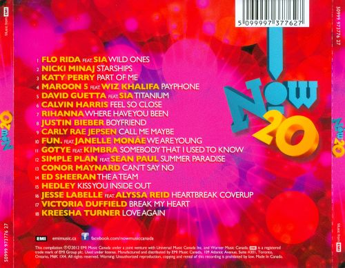 Now! 20 [Canada]