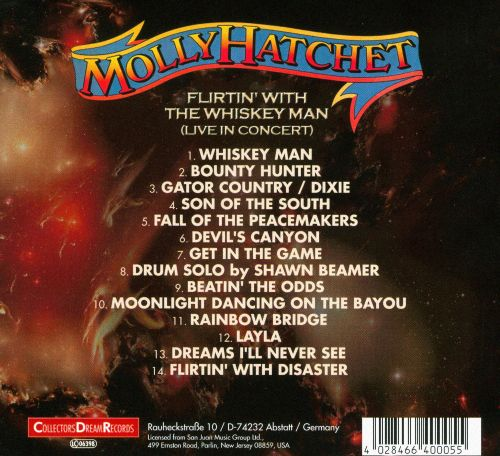 Flirtin' With the Whiskey Man: Live In Concert