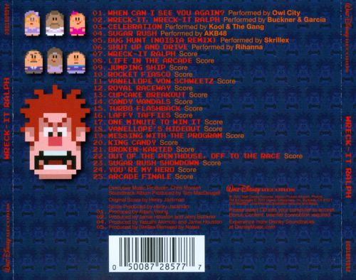 Wreck-It Ralph [Original Score]