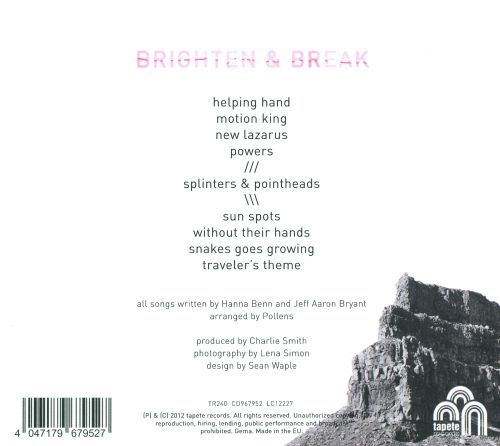 Brighten & Break