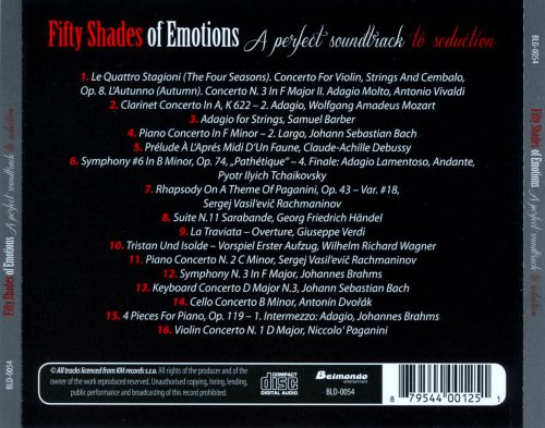 Fifty Shades of Emotions (CD 1)