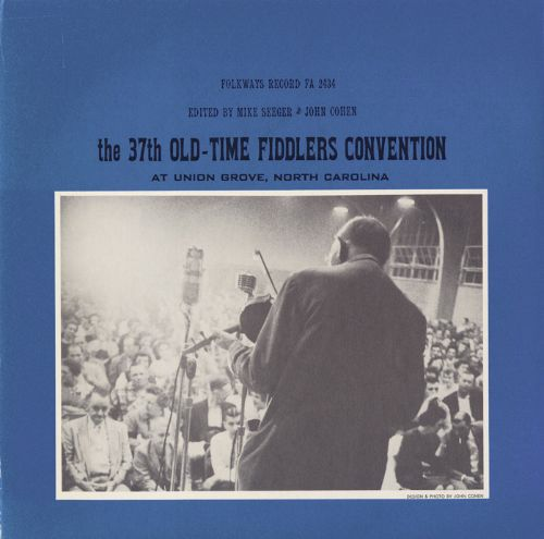 The 37th Old Time Fiddlers' Convention: At Union Grove, North Carolina
