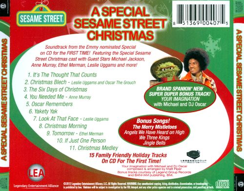 A Special Sesame Street Christmas - Various Artists | Songs ...