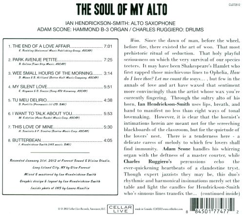 The Soul of My Alto
