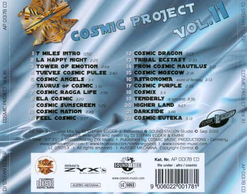 Cosmic Project, Vol. 11