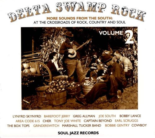 Delta Swamp Rock, Vol. 2:  More Sounds from the South 1968-75: At the Crossroads of Rock, Country and Soul