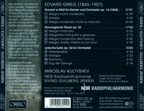 Grieg: Piano Concerto; Norwegian Dances; Lyric Suite