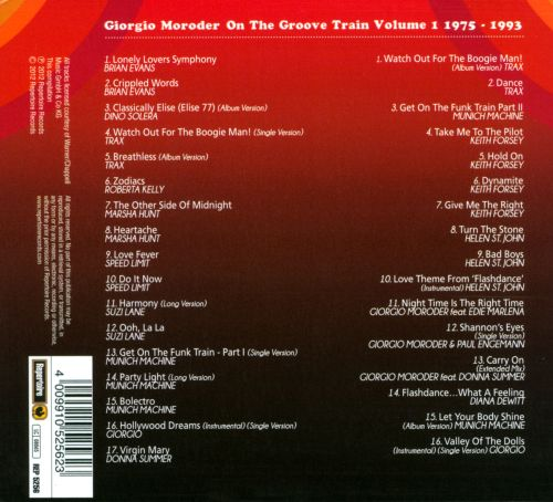 On the Groove Train, Vol. 1: 1975-1993