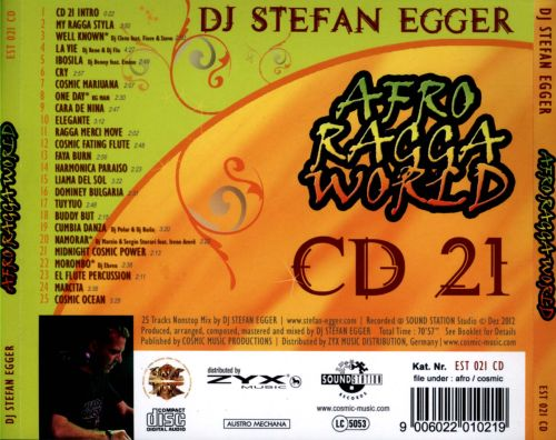 Afro Ragga World, Vol. 21