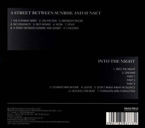 A Street Between Sunrise and Sunset/Into the Night