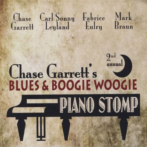Chase Garrett's 2nd Annual Blues & Boogie Woogie Piano Stomp