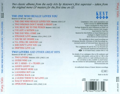 The One Who Really Loves You/Two Lovers