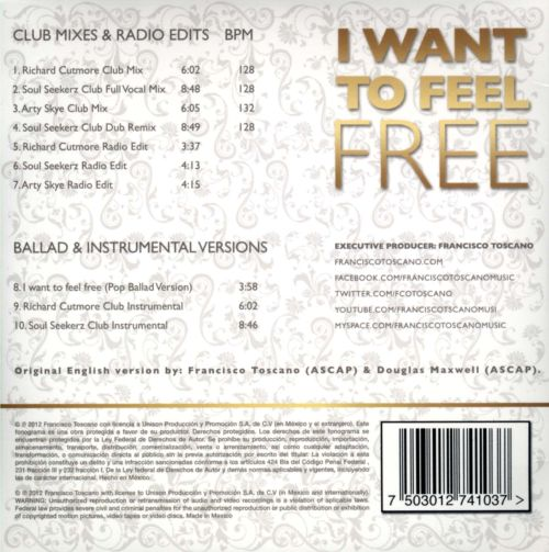 I Want to Feel Free