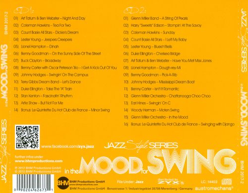In the Mood for Swing: From the 30s-50s