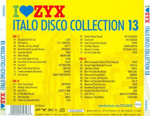Zyx Italo Disco Collection 13 - Imagez co