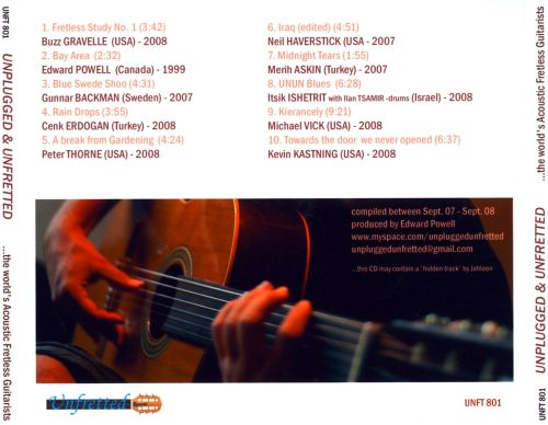 Unplugged & Unfretted... The World's Acoustic Fretless Guitarists