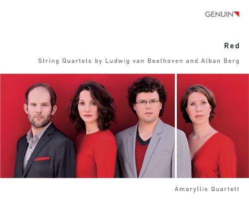 Red: String Quartets by Beethoven & Berg