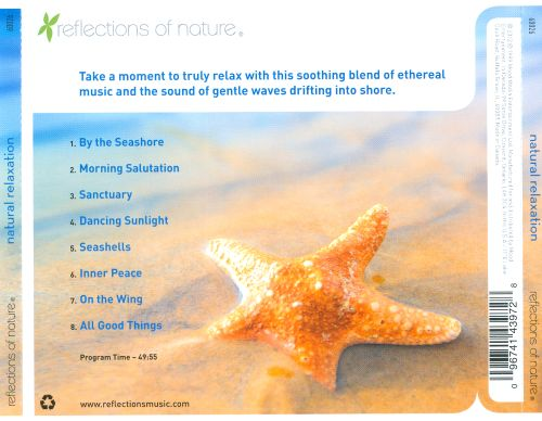 Natural Relaxation: Soothing Music & Gentle Waves