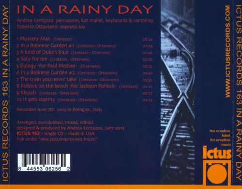 In a Rainy Day