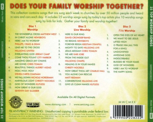Worship for Your Family: 35 Top Worship Songs