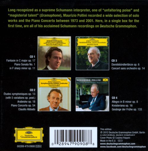 The Complete Schumann Recordings