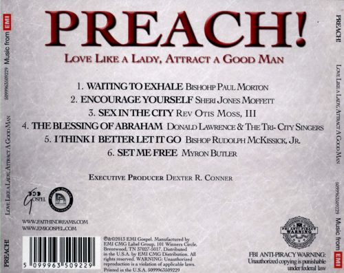 Preach!: Love Like a Lady, Attract a Good Man