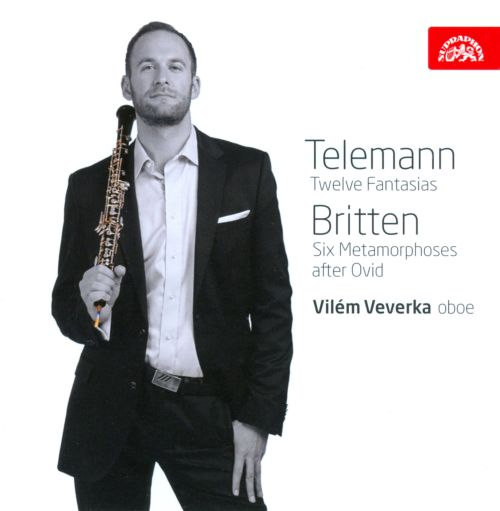 Telemann: Twelve Fantasias; Britten: Six Metamorphoses after Ovid