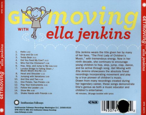 Get Moving With Ella Jenkins