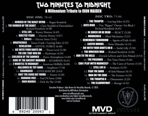 Two Minutes to Midnight: A Millennium Tribute to Iron Maiden