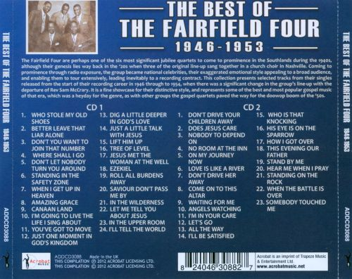 The Best of the Fairfield Four: 1946-1953
