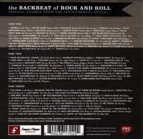 The Backbeat of Rock and Roll