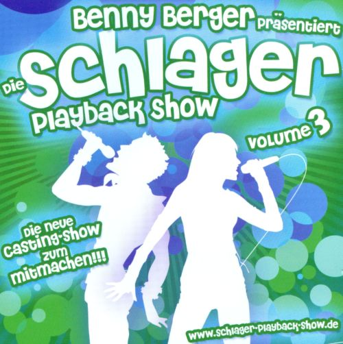 Die Schlager Playback Show, Vol. 3
