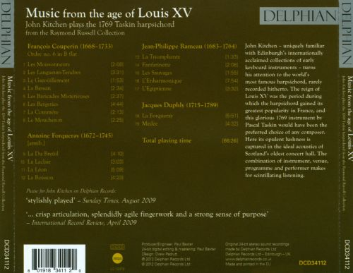 Music from the Age of Louis XV