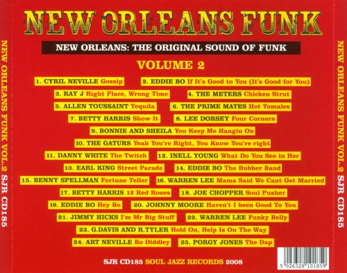 New Orleans Funk, Vol. 2: The Second Line Strut