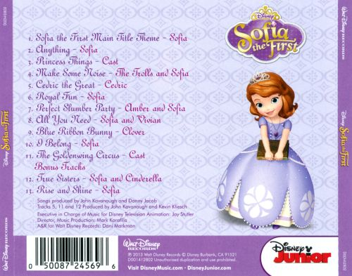Sofia The First Original Soundtrack Songs Reviews