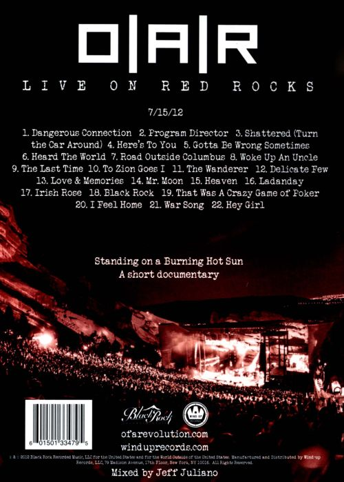 Live on Red Rocks [DVD]