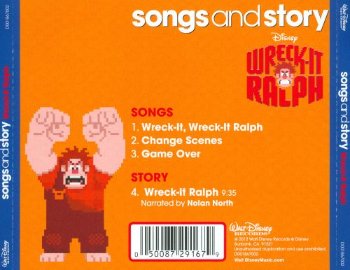 Songs and Story: Wreck-It Ralph