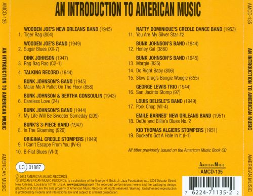 An  Introduction to American Music