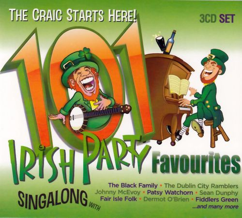 101 Irish Partytime Favourites