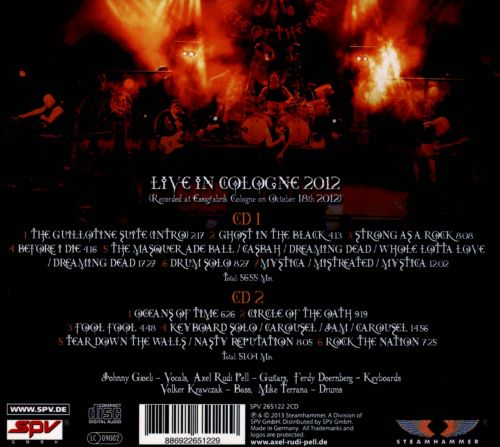 Live on Fire: Circle of the Oath Tour 2012
