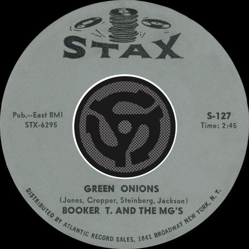 Green Onions/Behave Yourself [Digital 45]