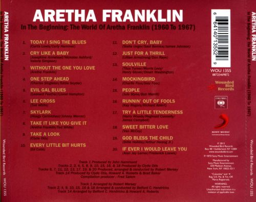 In the Beginning: The World of Aretha Franklin (1960-1967)