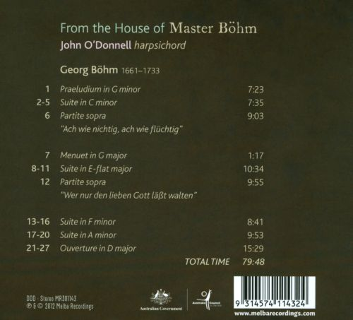 From the House of Master Böhm